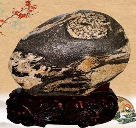 泰山奇石、泰山石、观赏石、泰山石敢当、以石会友,泰山石交易、旭日东升